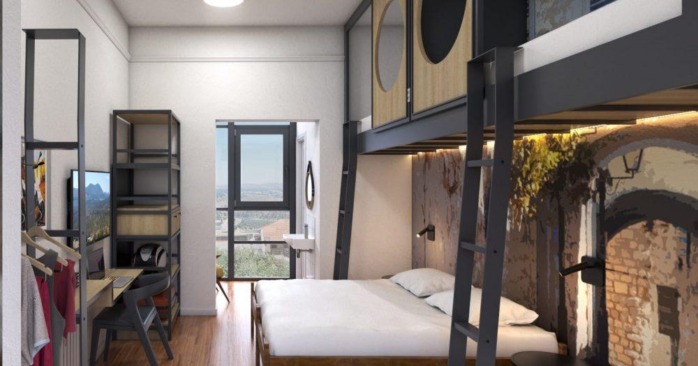 מלון ׳תל אביב׳, צפת