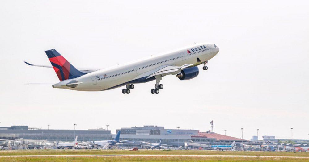 מטוסה החדש של דלתא איירליינס A330-900neo1. צילום: Airbus