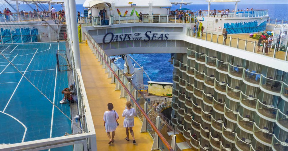 חוזרת להפליג Oasis of the Seas