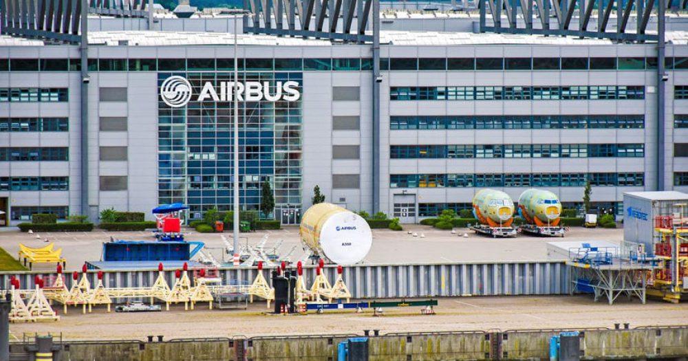 מפעל איירבוס בהמבורג