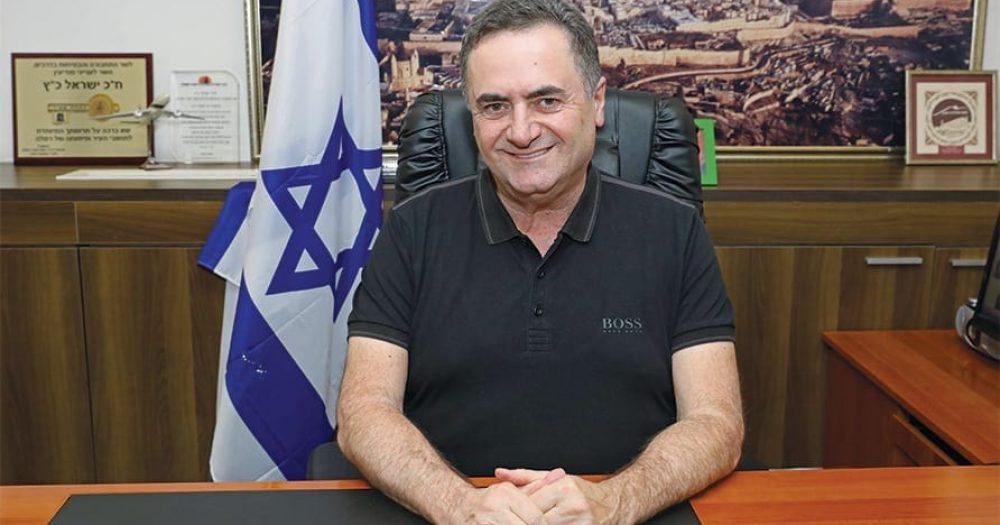 ישראל כץ, שר החוץ. צילום: רונן מחלב