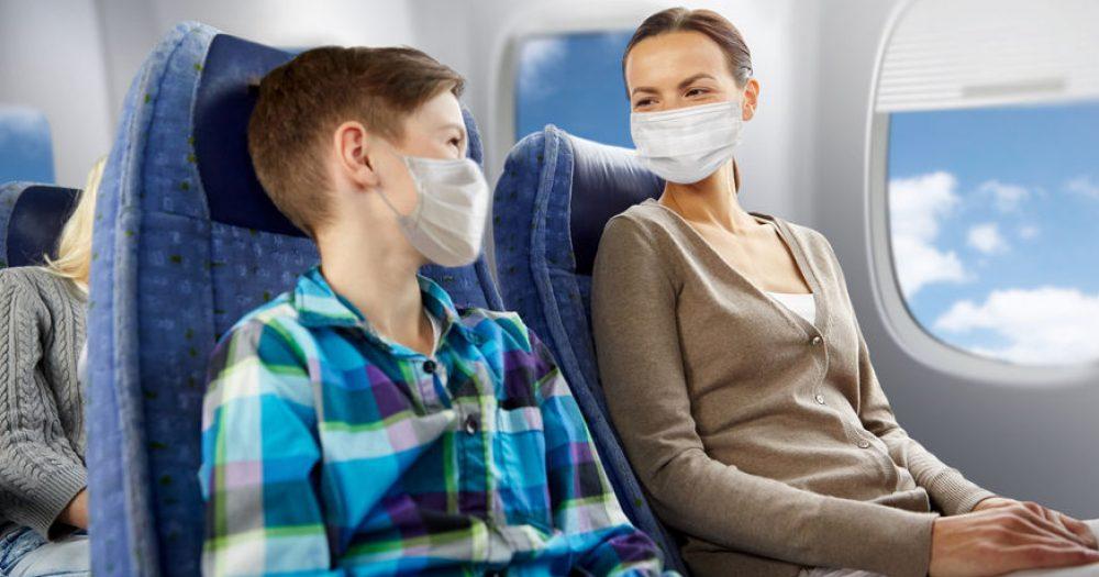 הסיכויים להידבק בטיסה נמוכים ביותר