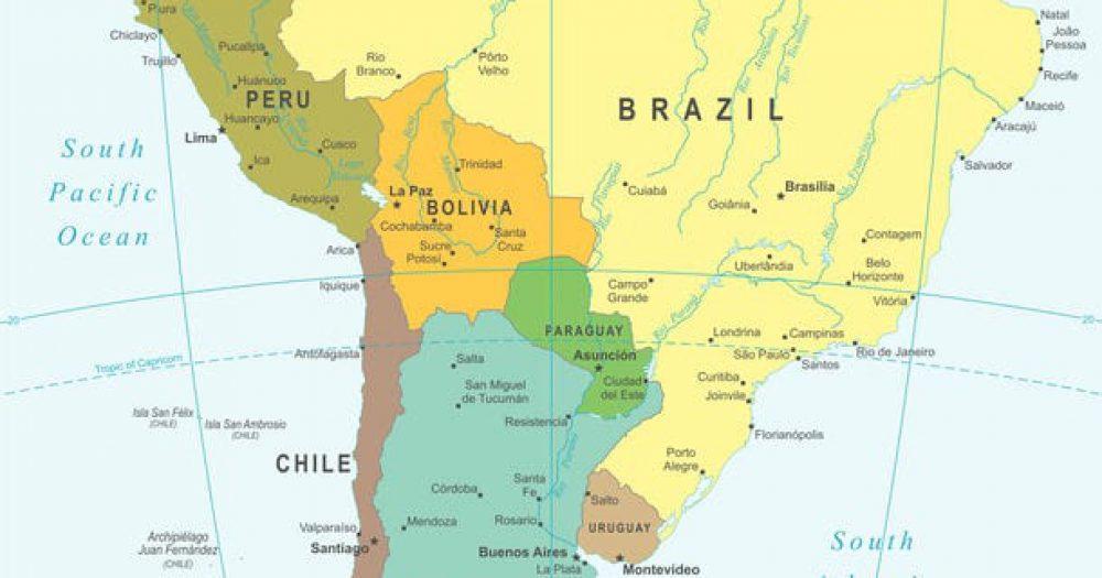 אמריקה הדרומית. צילום: 123rf